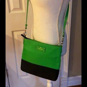 Kate Spade Crossbody bag, nwot navy and green.